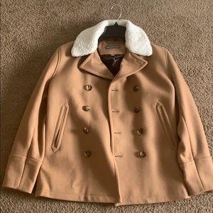 Peacoat Overcoat Wool Warm Winter Jacket